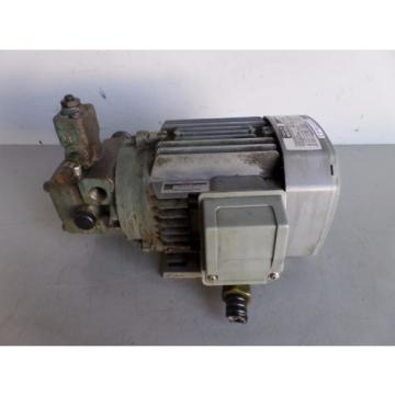 NACHI INDUCTION MOTOR LTIS-NR VBCA-0A4B07 PUMP VDS-0B-1A2-U-10 LOT# 2125M James