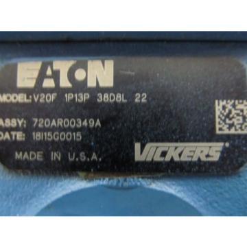 Vickers / Eaton V20F 1P13P 38D8L 22, V20F Series Hydraulic Pump