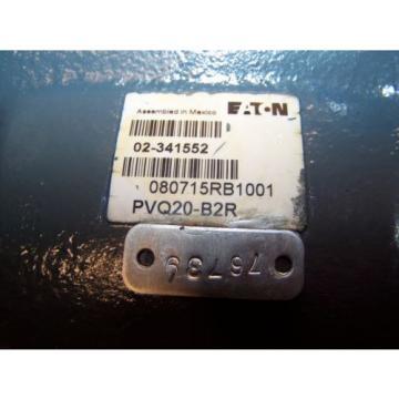 REFURBISHED VICKERS EATON HYDRAULIC AXIAL PISTON PUMP PVQ20-B2R