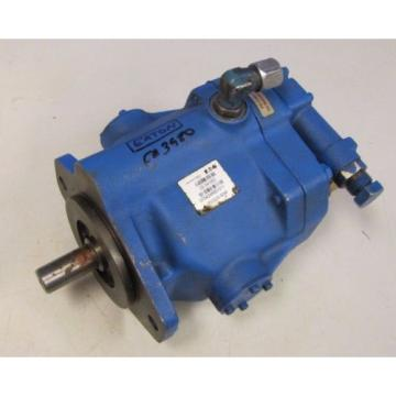 EATON 02-341552 070424RB1011 PVQ20-B2R 7/8#034; APPROXIMATE SHAFT HYDRAULIC PUMP