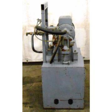 REXROTH Greece Mexico AA10VS028DFLR/30R-PKC63N00 HYDRAULIC POWER UNIT, 5 HP, 20 GAL. 1800 RPM