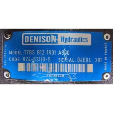 DENISON T7BS B12 1R01 A500 T7BSB121R01A500 HYDRAULIC PUMP