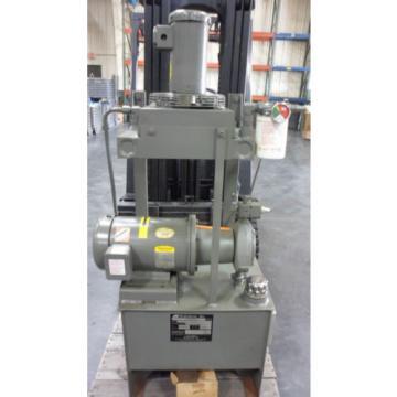 Hydraulic Power Unit for a machine Tool Made by HydraDyne