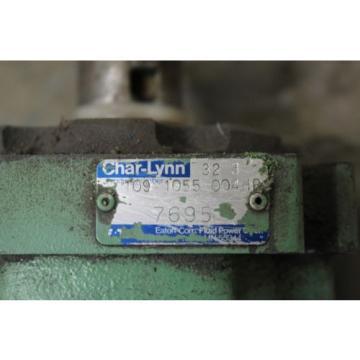 REBUILT CHAR-LYNN EATON 32 3 109 1055 004HB HYDRAULIC PUMP 1-1/4#034; SHAFT DIA