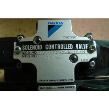DAIKIN HYDRAULIC MOTOR W/DUAL SOLENOID CONTROL VALVE ASSEMBLY #088A-1V0-1-20-033