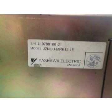 USED YASKAWA JZNCU-MRK12-1E YASNAC ABSO,CPS-18FB,V7Y16963,MCP01,MCP02B,BOXZG