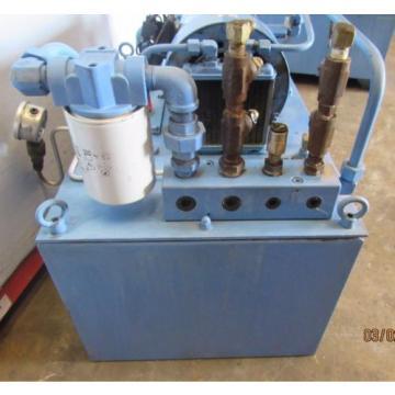 NACHI HYDRAULIC POWER UNIT VARIABLE VANE VDC-1B-2A3-HU-1688K/OG331000 MOTOR