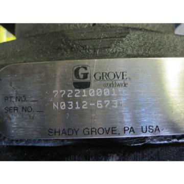 NEW GROVE HYDRAULIC PUMP #7722100015