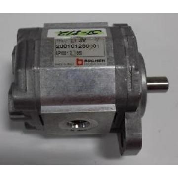 BUCHER HYDRAULICS GEAR PUMP  200101280201 *JCH*