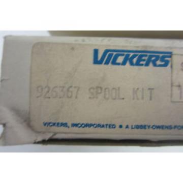 NEW VICKERS 926367 SPOOL KIT