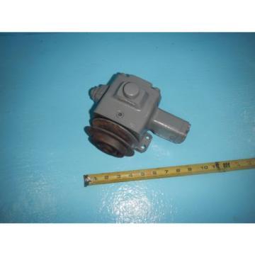 Natchi VDR-1A-1A3-E22 Hydraulic Pressure Compensated Vane Pump 8GPM