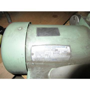 JOHN S. BARNES HYDRAULIC PUMP C6T17FZ2A 1HP G56Y FRAME 1725/1425RPM