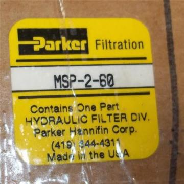PARKER HYDRAULIC FILTER MSP-2-60 *NEW*