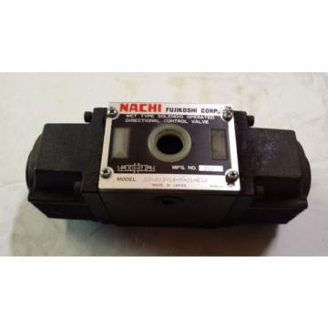 NEW NACHI SS-G03-C4-R-D1-E10 DIRECTIONAL CONTROL VALVE