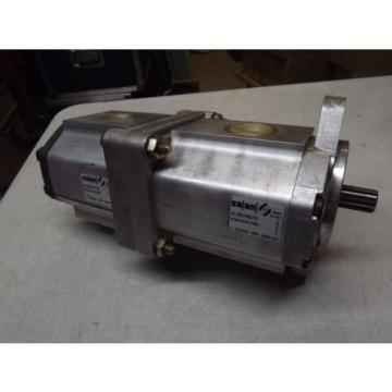 SALAMI Dual Hydraulic Gear Pump 3PB, 3PB46D-R55S3 and 3PB33D-R87S3 New NOS 46Cm3