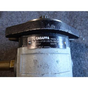 NEW CASAPPA HYDRAULIC PUMP # KP20.7.2-07S9-LXX/0L/20.7.2
