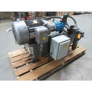 VICKERS T50P-VE Hydraulic Power Unit 25HP 2000PSI 33GPM 70 Gal.Tank