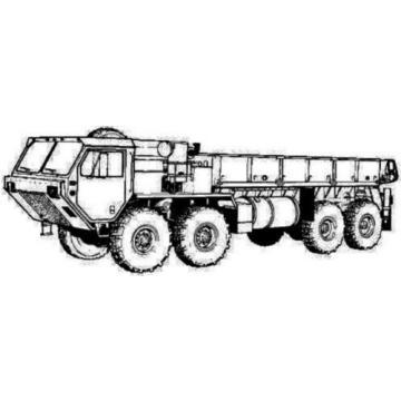 HALDEX 0871450 NOS HYDRAULIC PUMP G20-D2D9B1-A11A61L FITS MILITARY TRUCK M977