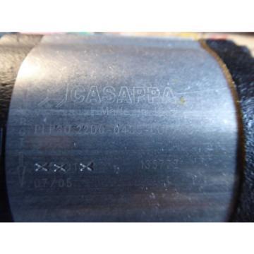 NEW CASAPPA HYDRAULIC PUMP # PLP30.22D0-04SF-L0F/0D-N, # PLP20.112D0L0C/0C-NI-FS