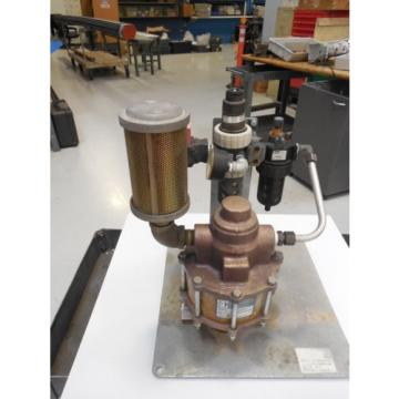 SC HYDRAULIC ENGINEERING 55:1 AIR DRIVEN POWER UNIT
