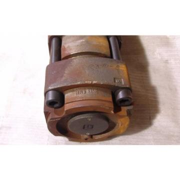 "Bucher hydraulic pump triple internal gear 2-7/16""  shaft weighs 600#"