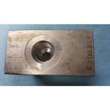 F103367, Integrated Hydraulics, Manifold Valve Body
