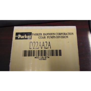 Parker Gear Pump D22AA2A