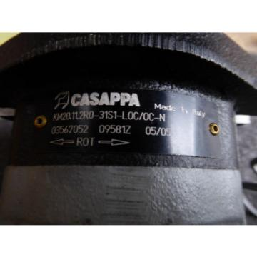 NEW CASAPPA HYDRAULIC PUMP KM20.11.2R0-31S1-L0C/0C-N