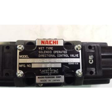 NEW NACHI SS-G03-C5-R-C230-E20 DIRECTIONAL CONTROL VALVE