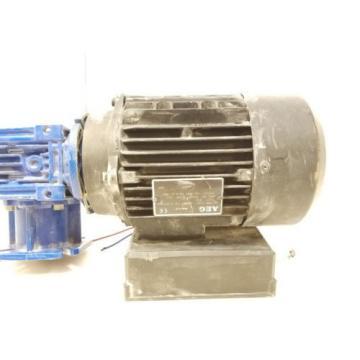 AEG AMME7IZBA2 60Hz 110v 0.55kW 0.75HP 8.5A Motor w/ Gear Box