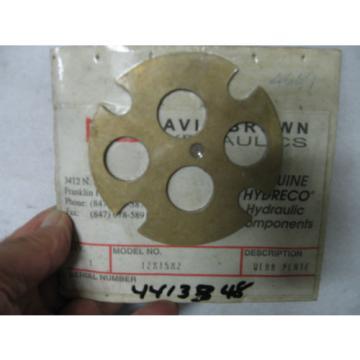 Hydreco Hydraulic Components - Wear Plate - 12 x 15 x 2 - NOS NIB