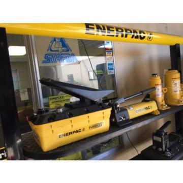 New Enerpac PATG 1102N air hydraulic foot pump
