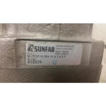 SUNFAB Fixed Displacement Piston Motors and Pump
