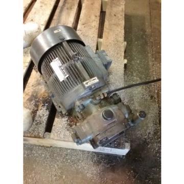 Nachi Variable Vane Pump Motor_VDC-2B-1A3-GU1588_LTIS85-NR_UVD-2A-A3-3.7-4-1188A