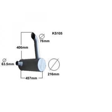 KOMATSU PC60 EXCAVATOR/DIGGER ADVANCE  EXHAUST SILENCER BRAND NEW