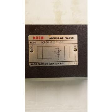 NEW NACHI OCF-GO3-B60-Y-J50 MODULAR VALVE