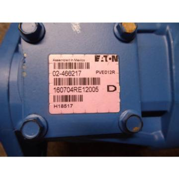 Origin EATON VICKERS PISTON PUMP 02-466217 # PVE012R