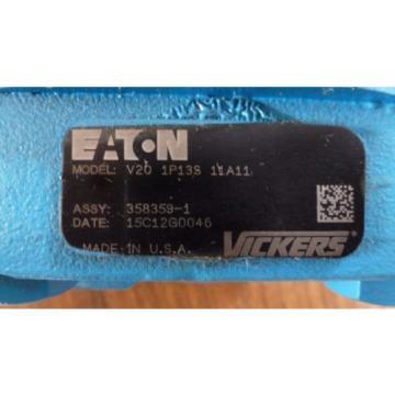 Eaton Vickers V20 1P13S 11A11 Hydraulic Pump origin Old Stock