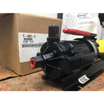 T-482-2 Hydraulic ENERPAC Pump 10000 PSI for use w ET3000 Eaton Aeroquip Crimper