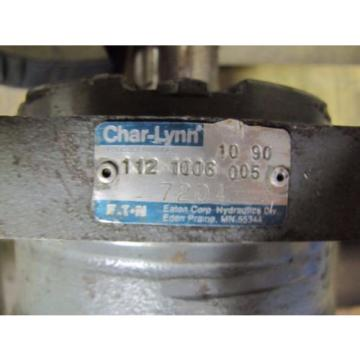 EATON CHAR-LYNN 112 1006 005 HYDRAULIC PUMP
