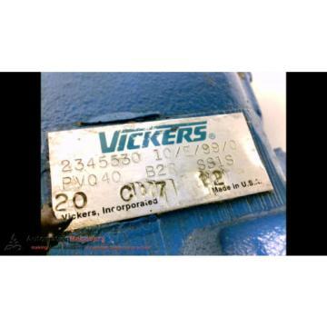 EATON VICKERS PVQ40, HYDRAULIC PUMP, Origin