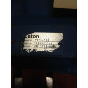 origin 3921-186 / 3921-194  eaton tandem pump