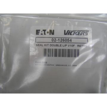 VICKERS POWER STEERING PUMP EATON SEAL KIT 02-126054 DOUBLE LIP V10F RETRO Origin