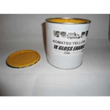 Komatsu Machinery Yellow Gloss paint 1 Litre