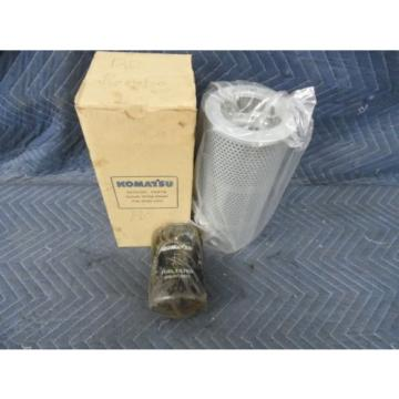 GENUINE KOMATSU HYDRAULIC FILTER 07063-01100 & OIL FILTER 6003118321  FITS WA120