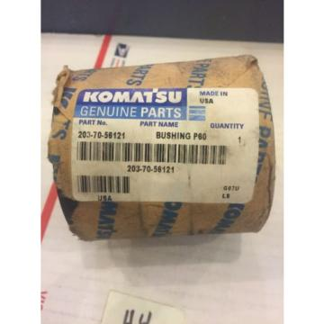 New OEM Genuine Komatsu PC Series Excavator Boom Bushing 203-70-56121 Warranty