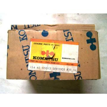 Komatsu Seal Service Kit Part No. 154 61 05012 - New In The Box