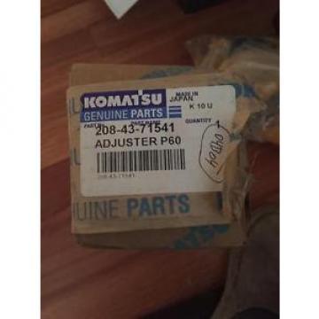 Genuine Komatsu Parts 2084371541 Adjuster