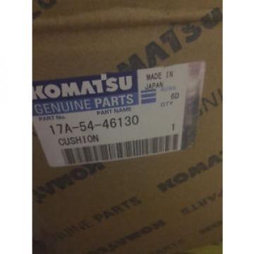 KOMATSU CUSHION 17A-54-46130 (NEW)