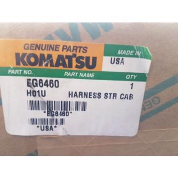 New Komatsu Harness STR CAB EG6460
